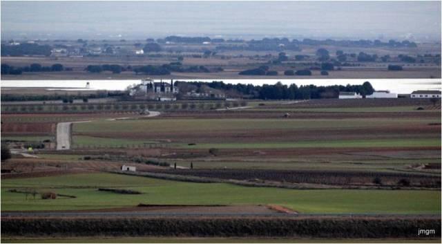 Campo de Montiel desde los Molinos de Mota del Cuervo