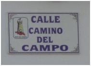 Calle Camino del Campo de Criptana