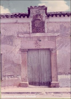 Casa de hidalgo en Mota del Cuervo