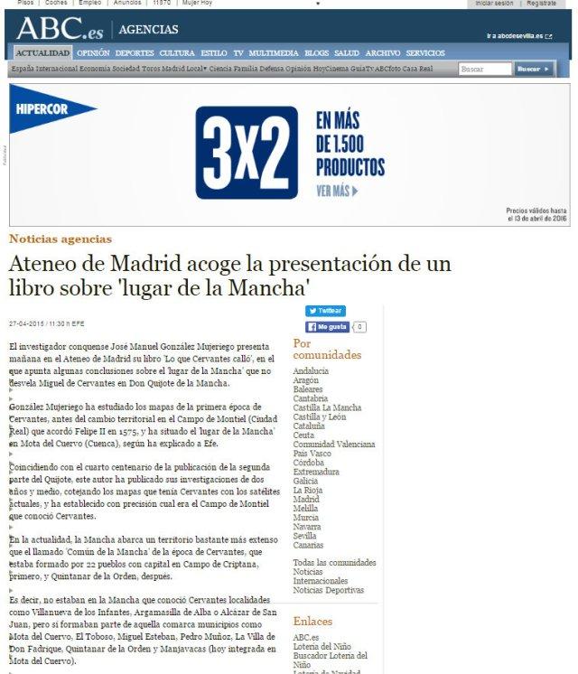 Dossier de Prensa ABC ATENEO DE MADRID