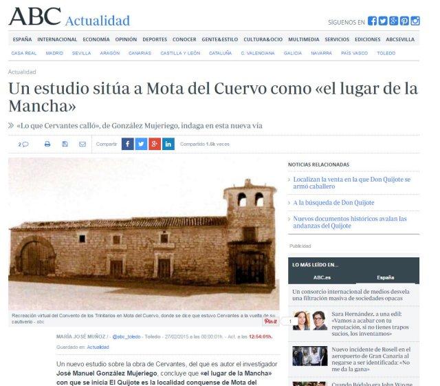 Dossier de Prensa ABC