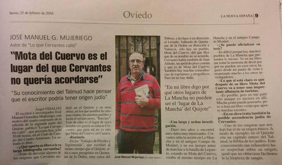 Dossier de Prensa LA NUEVA ESPAÑA A