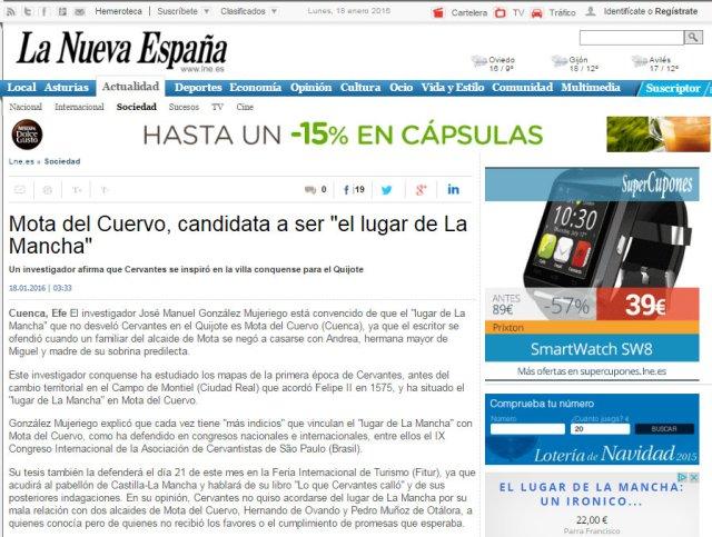 Dossier de Prensa LA NUEVA ESPAÑA A2