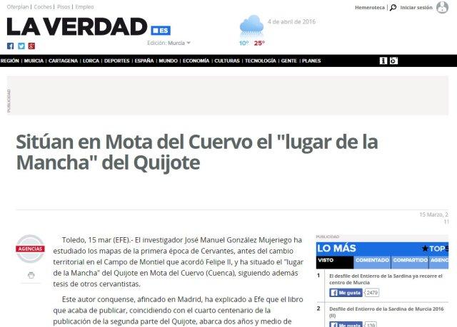 Dossier de Prensa LA VERDAD