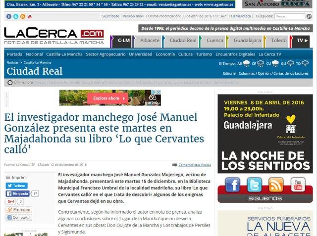 Dossier de Prensa laCerca