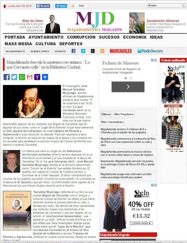 Dossier de Prensa MAJADAHONDA MAGAZIN