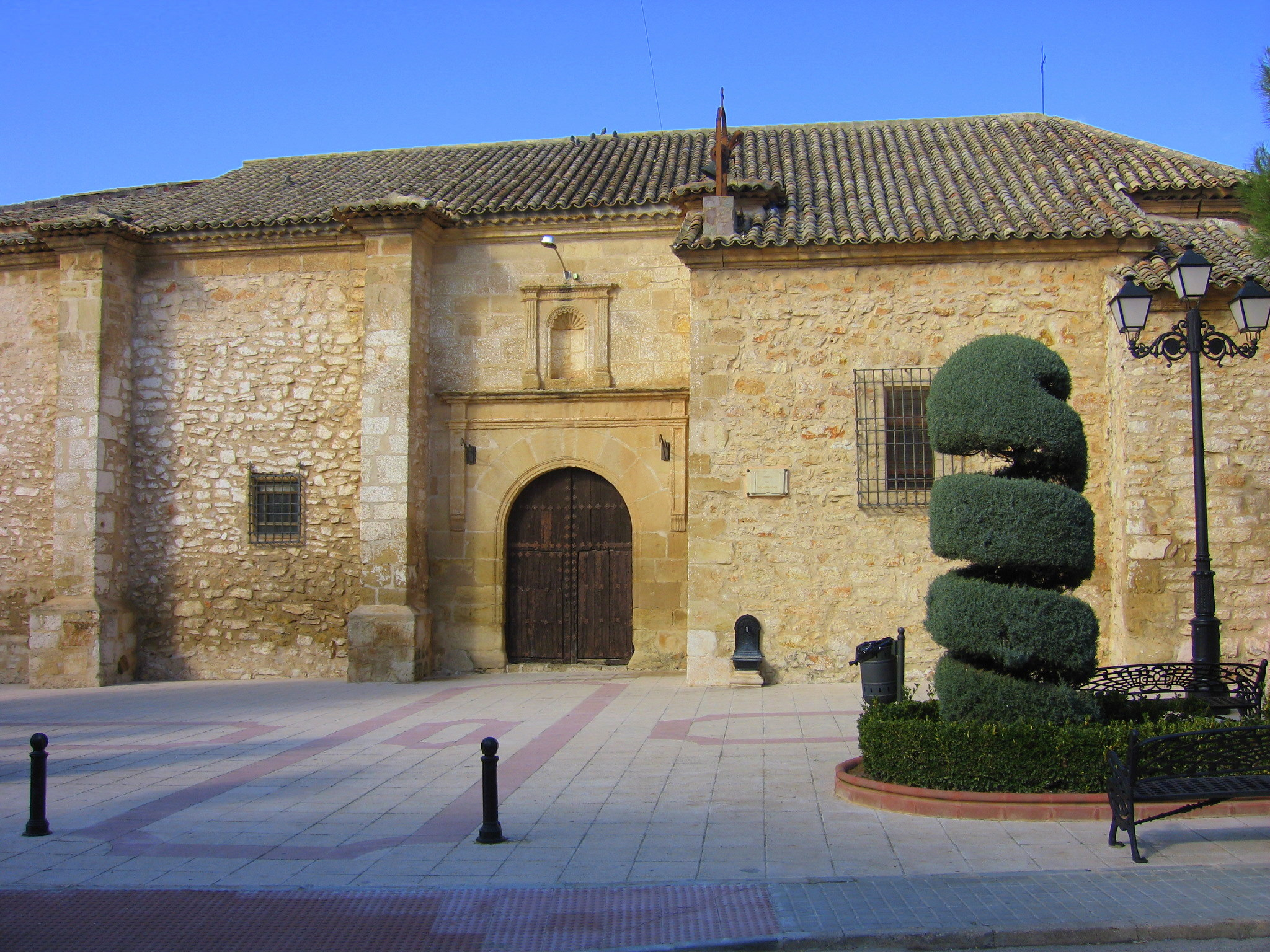 Iglesia de San Sebastián en Mota del Cuervo