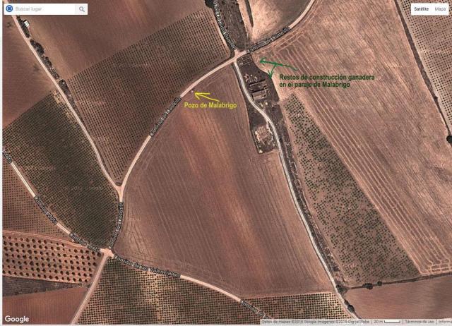Pozo de Malabrigo y restos construcción ganadera