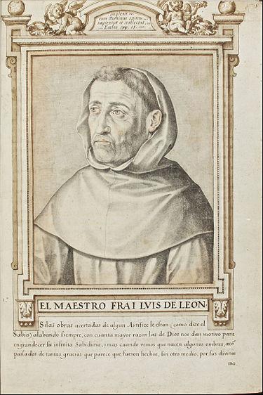 Fray Luis de Léon , por Francisco Pacheco (fuente Wikipedia)