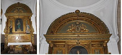altar patrocinado por Doña Asunción Ortega