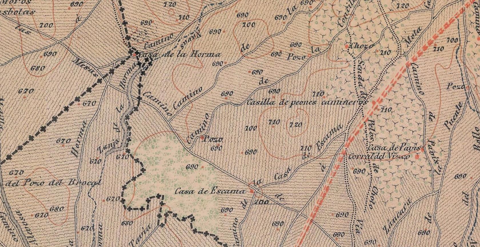 mapa pozo Malabrigo