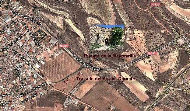 Puente de la Alcantarilla Plano
