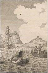Los del navío descubrieron a Periandro