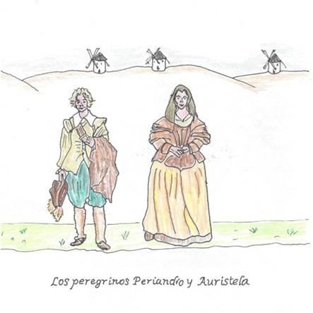 Los Peregrinos Periandro y Auristela